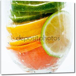 Цитрусовый салат