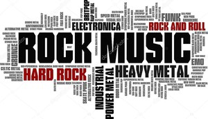 Рок-музыка стилизует слово