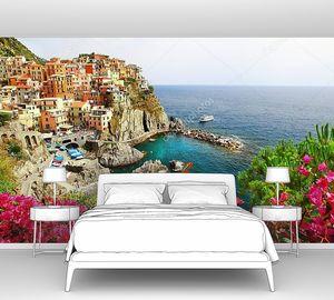 Красивая итальянская деревня на побережье