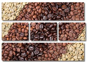 Кофейный коллаж