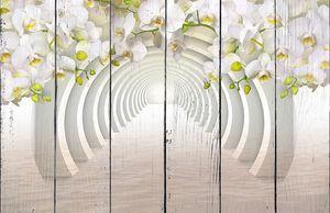 Цветы и тоннель