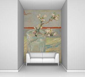 Ван Гог. Ветвь цветущего миндаля в стакане