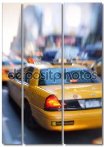 такси на улицах Манхэттена