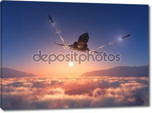 Военные самолеты 3d