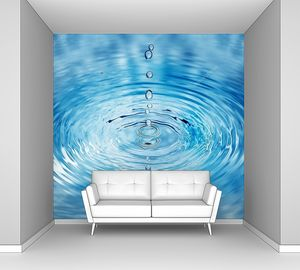 Попадание капель воды