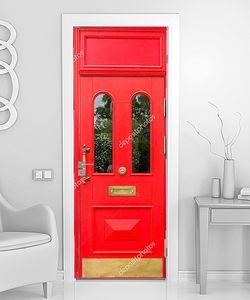 Красная дверь