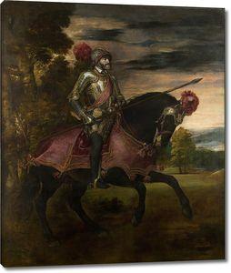 Тициан. Император Карлос V на Хорсбеке