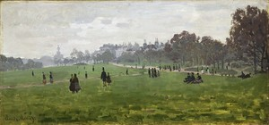 Моне Клод. Грин Парк в Лондоне, 1871