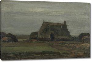 Ван Гог. Ферма с кипами торфа
