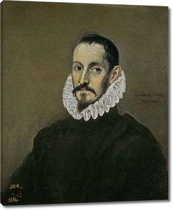 Эль Греко. Мужской портрет