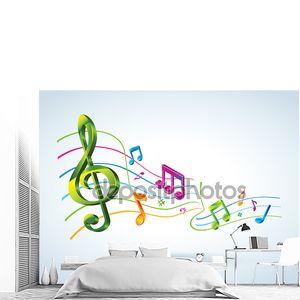 абстрактный музыкальный фон.