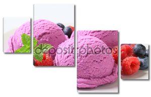 Берри Фрукты мороженое