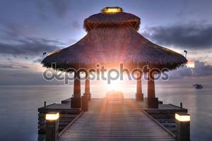 Восход солнца в раю