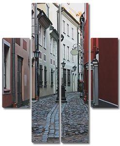 Старый город в Риге, Латвия