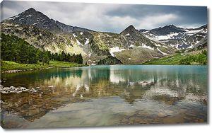Прозрачное горное озеро