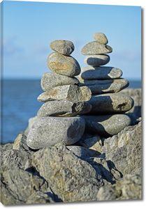 Башенки из камней