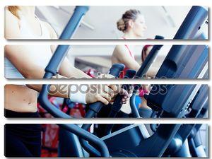 Девушки в фитнес-центре