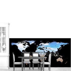 Карта мира подробно