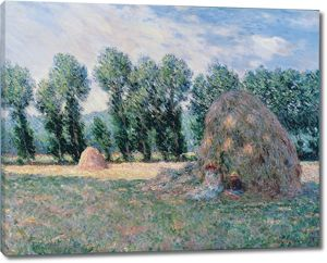 Моне Клод. Стог сена, 1885