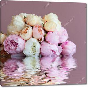 Букет Розовый пион