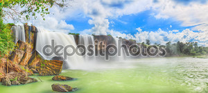 Сухой водопад Нур