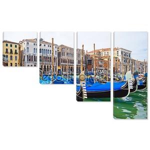 Гондоле в Венеции
