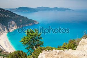 пляж Миртос, остров Кефалония, Греция