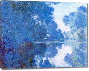Моне Клод. Утро на Сене, 1897