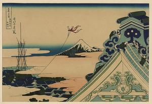 Кацусика Хокусай. Храм Хонгандзи в Асакусе