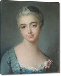 Франсуа Буше. Портрет молодой леди