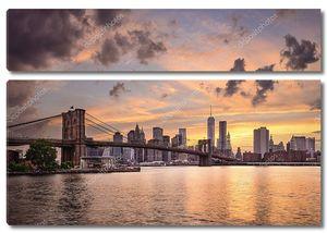горизонт Нью-Йорка