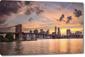 Нью-Йорк на закате дня