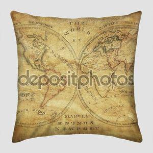 Старинные карты мира 1833