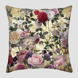 Рисунок разноцветных роз