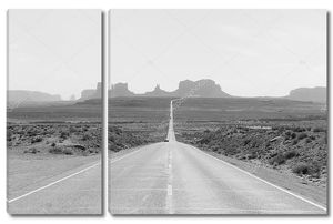 Дорога в Долина монументов