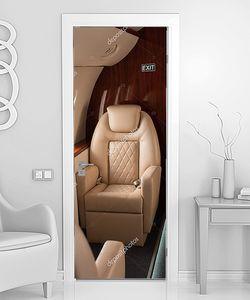 В салоне VIP самолета