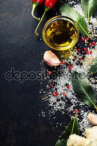 Выбор травы и специи