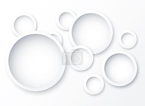 Абстрактный фон круги