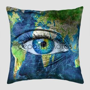Планета Земля и глаз человека