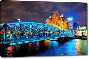 Шанхай Waibaidu мост