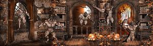Монстры в древнем замке