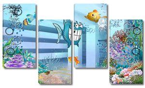 Забавные рыбки