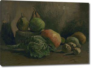 Ван Гог. Натюрморт с овощами и фруктами