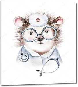 Ежик доктор