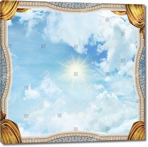 Небо плафон