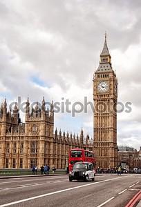 Элизабет-Тауэр в Лондоне