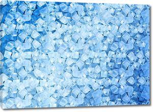 Фон с кубиками льда