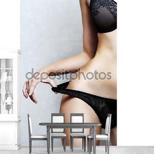 Часть тела Сексуальное белье модели