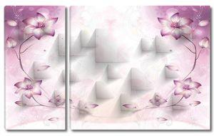 Выпуклые треугольники с цветами