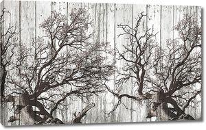 Корявые деревья